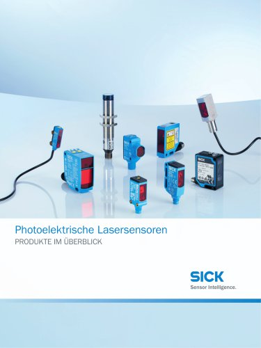 Photoelektrische Lasersensoren