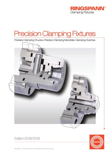 Precision Clamping Fixtures RINGSPANN