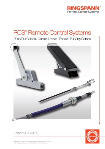 RINGSPANN RCS® Remote Control Systems