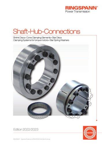 Shaft-Hub-Connections RINGSPANN : Shrink Discs, Cone Clamping Elements, Star Discs, Clamping Elements, Star Spring Washers