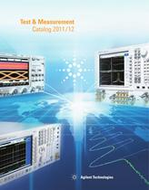 Agilent Test & Measurement Catalog 2011/2012