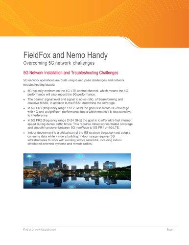 FieldFox and Nemo Handy