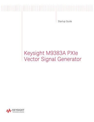 Keysight M9383A PXIe Vector Signal Generator