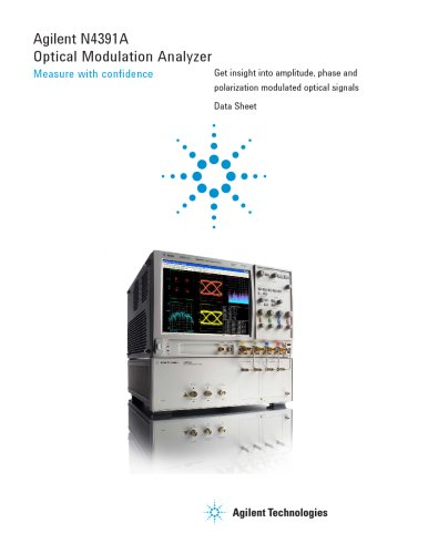 N4391A Optical Modulation Analyzer