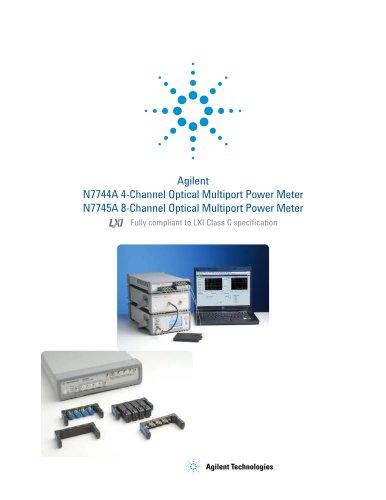 N7744A Optical Multiport Power Meter