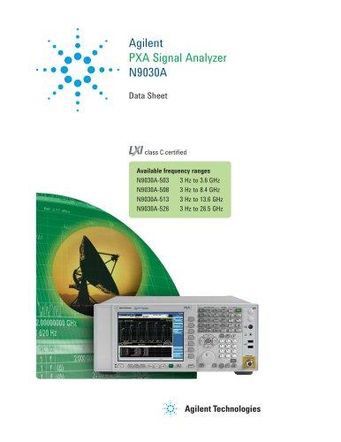 N9030A PXA Signal Analyzer