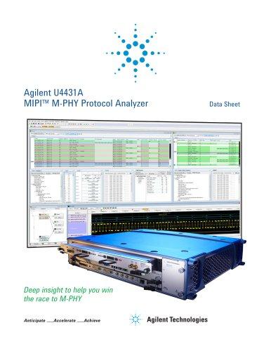 U4431A MIPI? M-PHY Protocol Analyzer