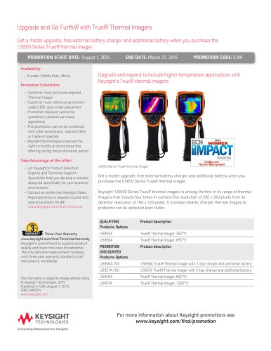 Upgrade and Go Furth IR  with True IR  Thermal Imagers