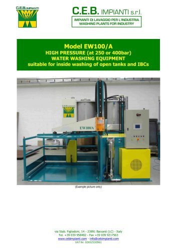 Model EW100/A