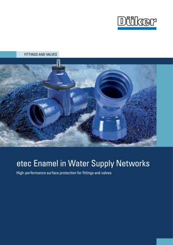etec Enamel in Water Supply Networks