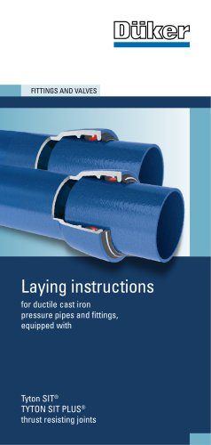 Laying Instructions for System TYTON® SIT® / TYTON SIT PLUS®