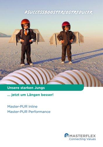 Master-PUR Performance und Master-PUR Inline