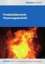 DURAG Produktübersicht Feuerungstechnik