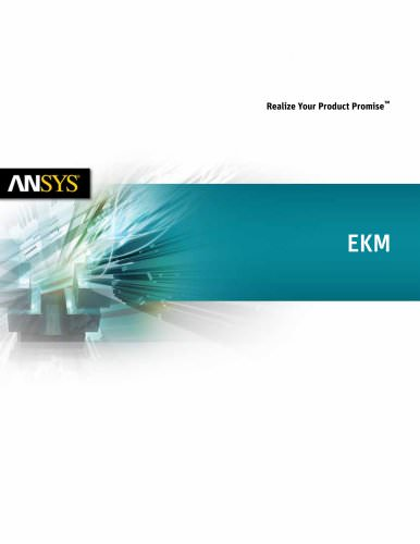 ANSYS Engineering Knowledge Manager (EKM)