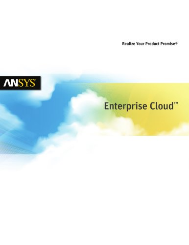 ANSYS Licensing on the Cloud