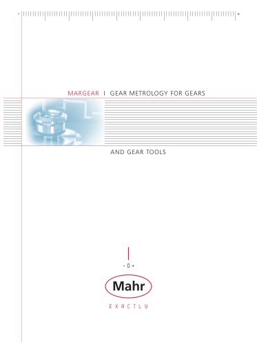 MARGEAR I GEAR METROLOGY FOR GEARS