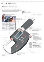 Micromar Wassergeschützte Digitale Bügel-Messschraube 40 EW - 1