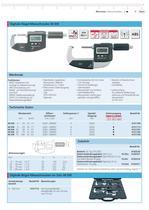 Micromar Wassergeschützte Digitale Bügel-Messschraube 40 EW - 2