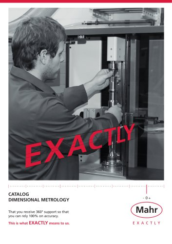 Production Metrology Catalog