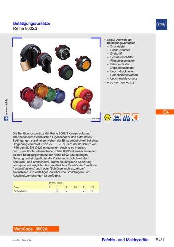 Actuators Series 8602/3