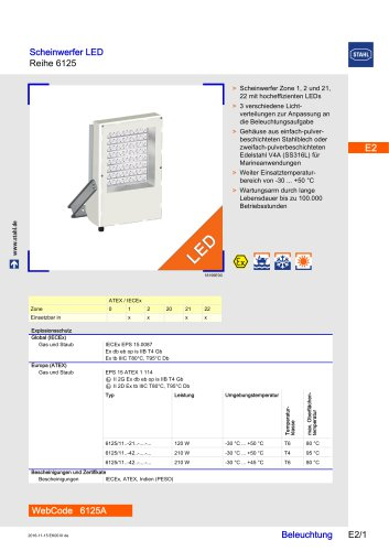 Floodlight LED Series 6125