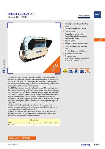 Helideck Floodlight LED Series TEF9970