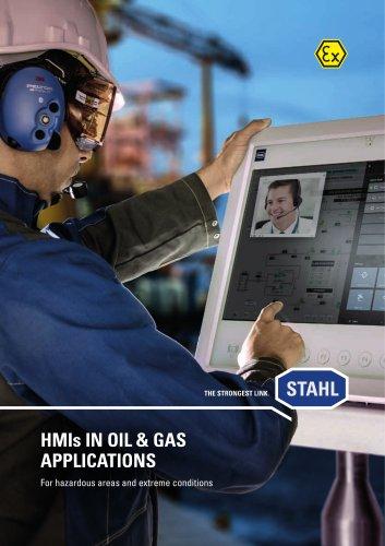 HMIs IN OIL & GAS APPLICATIONS