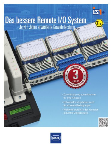 IS1+ - Das bessere Remote I/O System