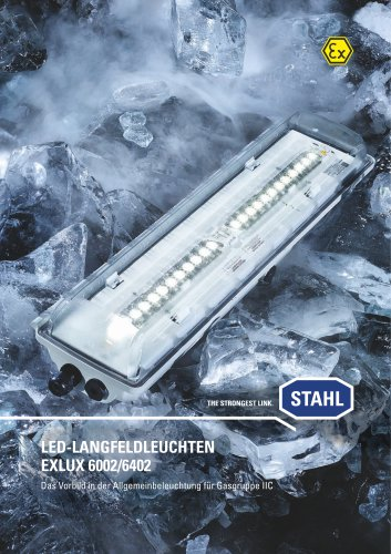 LED-Langfeldleuchten EXLUX 6002/6402