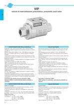 Pneumatic axial valve