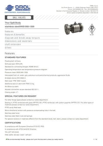 stainless steelANSI 900-1500