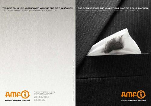 AMF-Imagebroschüre