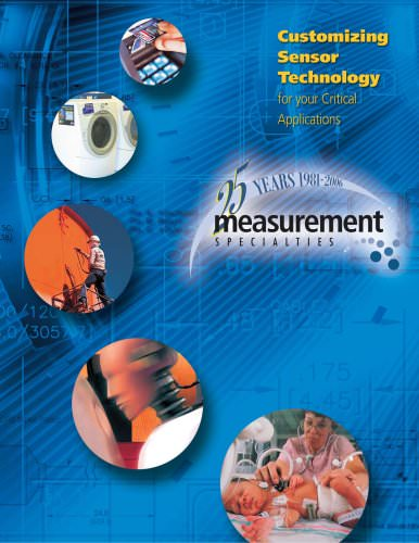 Measurement Specialties Capability Brochure