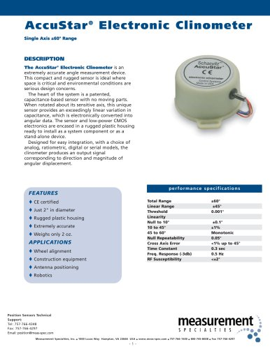 Position Sensor - AccuStar I Series