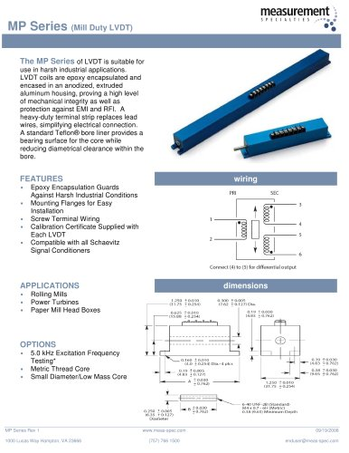 Position Sensor - MP Series
