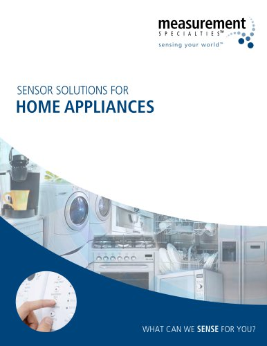 Sensor Solutions for Home Appliances