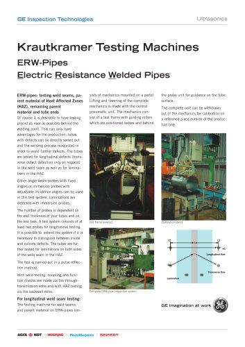Electric Resistance Welded (ERW) Pipe Technology Brochure