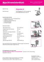 Infoblatt Polynette III