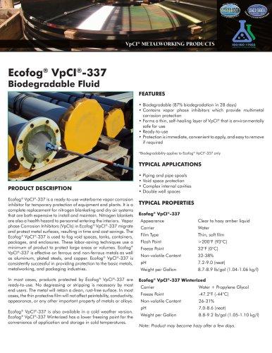 Ecofog® VpCI®-337