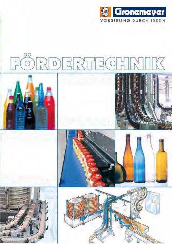 Scharnierbandförderer Aluminium-Kompakt-System