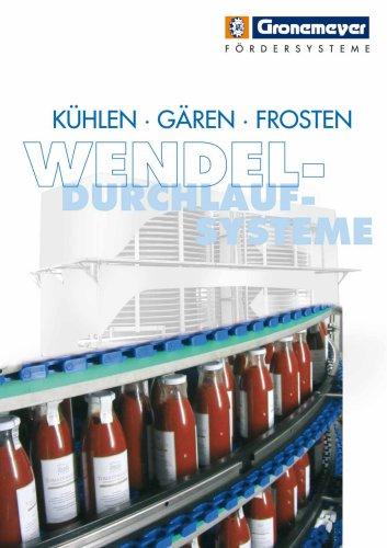 Wendel-Durchlaufsysteme