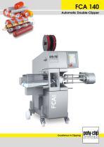 FCA 140 Automatic Double-Clipper