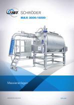 MAX 3000/6000 Massieranlagen