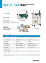 automatic banding machine / table-top WK02-30A